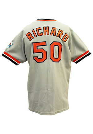 1972 J.R. Richard Houston Astros Game-Used & Autographed Road Jersey (JSA • HA Documentation)
