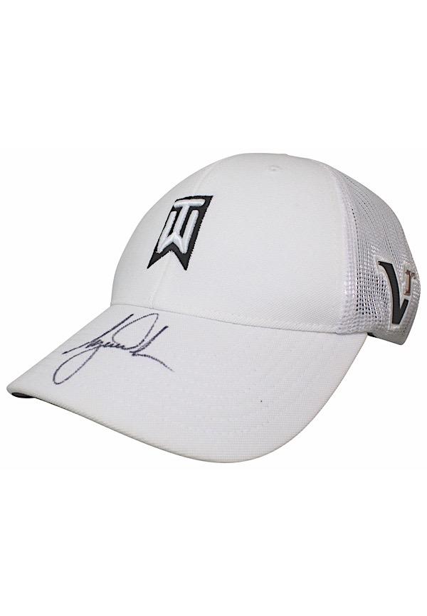 ed601a14ce9 Lot Detail - Tiger Woods Single-Signed Nike Golf Hat (Full JSA)