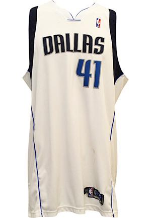 outlet store 09cdf c0e87 Lot Detail - 2004-05 Dirk Nowitzki Dallas Mavericks Game ...