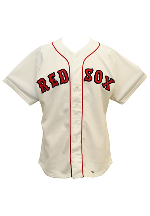 1979 Carlton Fisk Boston Red Sox Game-Used Jersey (Graded 9)