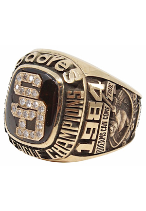 1984 Doug Gwosdz San Diego Padres National League Champions Ring