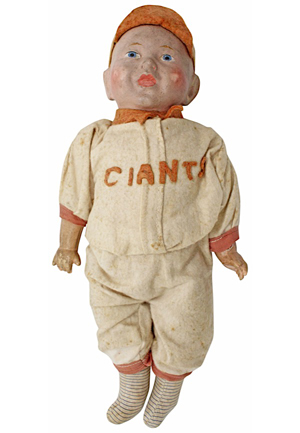 1905 New York Giants World Series Bisque Doll