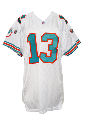 1995 Dan Marino Miami Dolphins Game-Used Jersey