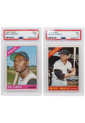 Lot Detail 1966 Topps Baseball Complete Card Set