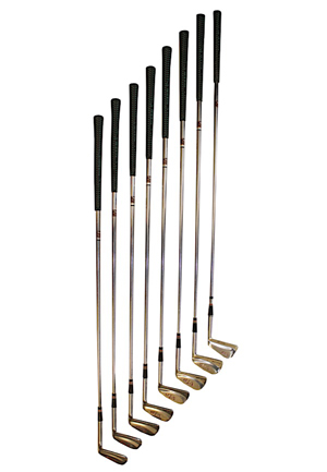 Willie Mays Custom Set Of Personally Owned MacGregor Golf Clubs