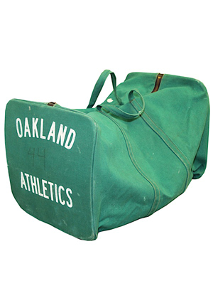1976 Willie McCovey Oakland As Travel Bag