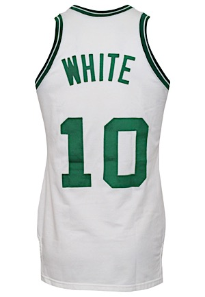 1977-78 Jo Jo White Boston Celtics Game-Used Knit Jersey (Photo-Matched & Graded 10)