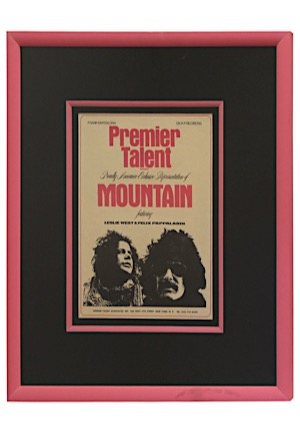 "1970s ""Mountain"" Framed Representation Advertisement"