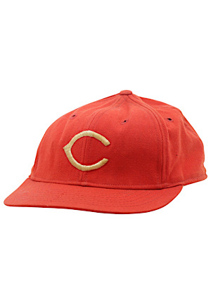1970s Sparky Anderson Cincinnati Reds Manager-Worn & Autographed Cap