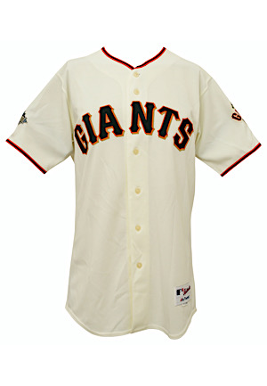 2011 Tim Lincecum San Francisco Giants All-Star Weekend Worn & Autographed Jersey