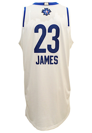 low priced 85e93 7e011 Lot Detail - 2016 LeBron James NBA All-Star Eastern ...