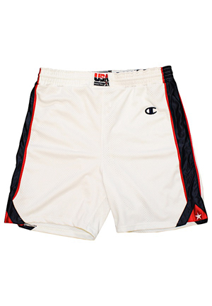 2000 USA Basketball Team-Issued Olympic Shorts
