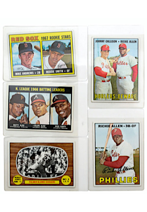 Grouping Of 1967 Topps Baseball (5)
