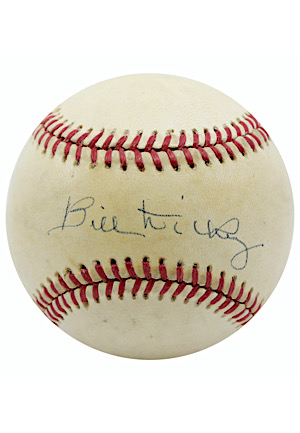 Bill Dickey Single-Signed OAL Baseball