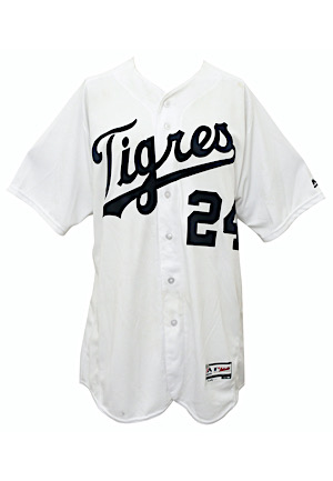 "2016 Miguel Cabrera Detroit Tigers Game-Used ""Tigres"" Home Jersey (Photo-Matched • Graded 10 • MLB Authenticated)"
