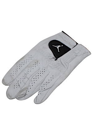 Michael Jordan Personally Worn Jordan Brand Golf Glove (Gifted To Our Consignor From MJ)