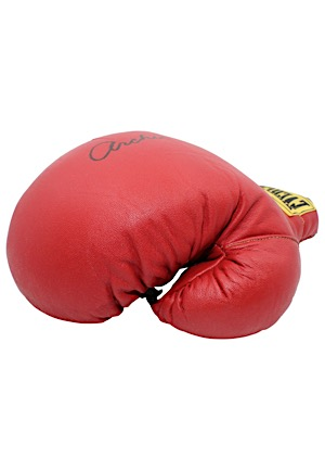 Archie Moore Single-Signed Everlast Boxing Glove (JSA)