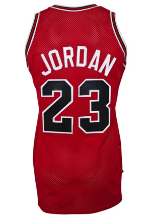 1987-88 Michael Jordan Chicago Bulls Game-Used & Autographed Road Jersey (Graded 10 • Sourced From The Equipment Manager • MVP Season • Full JSA)