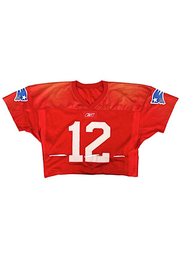 Lot Detail - 2000-02 Tom Brady New England Patriots Practice-Worn ...
