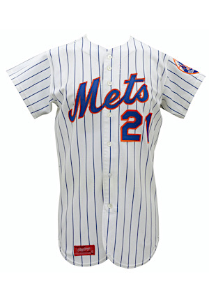 1973 Cleon Jones New York Mets Game-Used Home Jersey (Photo-Matched • NL Champs Season)