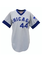1975 Burt Hooton Chicago Cubs Game-Used Road Jersey