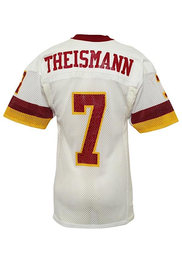 Lot Detail - 1980s Joe Theismann Washington Redskins Game-Used Jersey