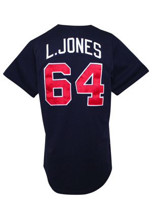 1993 Chipper Jones Atlanta Braves Rookie Debut Game-Used Spring Training Jersey (Likely First MLB Jersey)