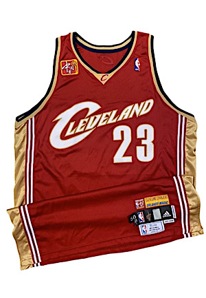 2007 LeBron James Cleveland Cavaliers NBA China Games Game-Used Jersey (Photo-Matched • NBA LOA)