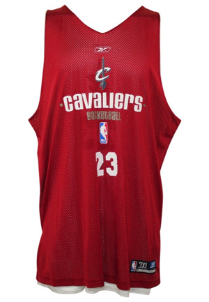 2003-04 LeBron James Cleveland Cavaliers Game-Used Rookie Debut Summer League Reversible Jersey (First Professional Jersey • Orlando Magic Exec LOA)