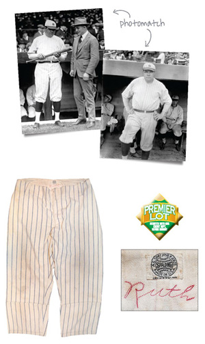 Lot #1: Babe Ruth